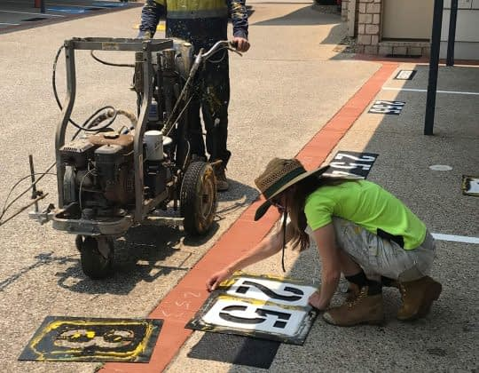 Workshop Line Marking